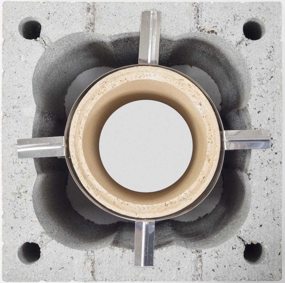 Przewód ceramiczny z opaską centrującą